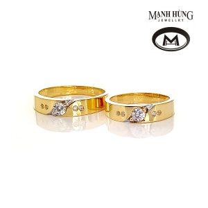 Nhẫn cưới tây nhập khẩu