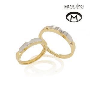 Nhẫn cưới vàng ý đẹp cao cấp