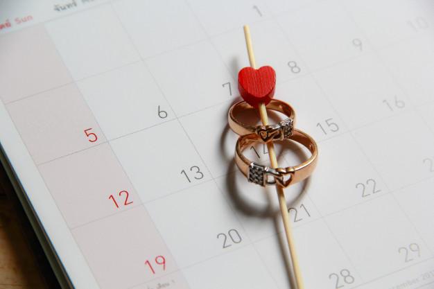 Đặt nhẫn cưới